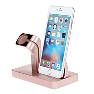 abordables Soportes y Monturas para Apple Watch-Apple Watch / iPhone 7 / iPhone 7 Plus Todo-En-1 Aluminio Escritorio