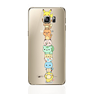 voordelige Nieuwe collectie Samsung-accessoires-hoesje Voor Samsung Galaxy S8 Plus S8 Patroon Achterkant Cartoon Zacht TPU voor S8 Plus S8 S7 edge S7 S6 edge plus S6 edge S6