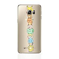 Недорогие Чехлы и кейсы для Galaxy S7-Кейс для Назначение SSamsung Galaxy S8 Plus S8 С узором Кейс на заднюю панель Мультипликация Мягкий ТПУ для S8 Plus S8 S7 edge S7 S6 edge