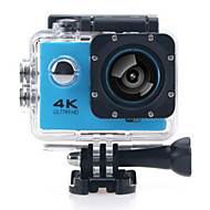 cheap Sports Cameras & Accessories For GoPro-Sports Action Camera 4K  WIFI Waterproof 12MP High Defenition 2.0 Inch Sports DV 170 Degree  Yellow