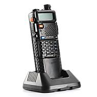 halpa -Baofeng UV-5R-5W+3800L-black Radiopuhelin 4W / 1W (Max 5W) 128 136-174MHz / 400-520MHz 3800mAh 3KM-5KMFM-radio / Hälytysjärjestelmä /