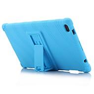 levne Tablet příslušenství-vzor vlny vzorek silikonový kaučuk gel pokrytí kůže s držákem pro lenovo kartu 4 8 (tb-8504) 8,0 palcový tablet pc