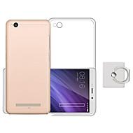お買い得  携帯電話ケース-ケース 用途 Xiaomi Redmi 4X スタンド付き バックカバー 純色 ソフト TPU のために Xiaomi Redmi 4X