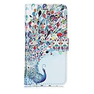 Недорогие Кейсы для iPhone 8-Кейс для Назначение Apple iPhone X iPhone 8 Бумажник для карт Кошелек Флип Магнитный С узором Чехол Животное Твердый Кожа PU для iPhone X