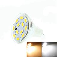 billige -5W GU4(MR11) LED-spotlys MR11 12 leds SMD 5730 Dæmpbar Dekorativ Varm hvid Kold hvid Naturlig hvid 3500/6000/6500lm 3500K  6000K 6500KK