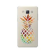 halpa Galaxy A8 kotelot / kuoret-Etui Käyttötarkoitus Samsung Galaxy A7(2017) A7(2016) Kuvio Takakuori Hedelmä Piirretty Pehmeä TPU varten A3 (2017) A5 (2017) A7 (2017)