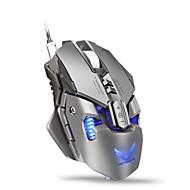zerodat 매크로는 랩톱 PC 컴퓨터 액세서리 용 마우스 게이머 4000dpi 광 유선 게이밍 마우스 게이머를 정의합니다.
