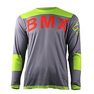 お買い得  -夏の知恵はオートバイのクロスカントリージャージー自身のマウンテンバイクHDダウンヒルクロスカントリージャージーアウトドアスポーツ長袖Tシャツ