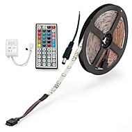 preiswerte -ZDM® 300 LEDs 5M LED-Streifenleuchte 1 44Tastenfernbedienung 1 Wechselstromkabel RGB Schneidbar DC 12V