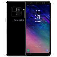 お買い得  Samsung 用スクリーンプロテクター-スクリーンプロテクター Samsung Galaxy のために A8+ 2018 PET 1枚 フロント&バック&カメラレンズプロテクター スクリーンプロテクター アンチグレア 指紋防止 傷防止 マット 超薄型