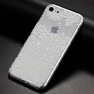 Недорогие Кейсы для iPhone 8 Plus-Кейс для Назначение Apple iPhone X iPhone 8 iPhone 8 Plus iPhone 7 Кейс для iPhone 5 iPhone 6 Ультратонкий Прозрачный С узором Задняя