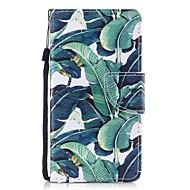 Недорогие Чехлы и кейсы для Galaxy Note 8-Кейс для Назначение SSamsung Galaxy Note 8 Бумажник для карт Кошелек со стендом Флип Магнитный С узором Чехол дерево Твердый Кожа PU для