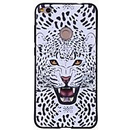 お買い得  携帯電話ケース-ケース 用途 Huawei P8 Lite(2017) パターン アニマルプリント 動物 ソフト のために Huawei