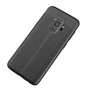 Недорогие Чехлы и кейсы для Galaxy S8-Кейс для Назначение SSamsung Galaxy S9 S9 Plus Матовое Кейс на заднюю панель Сплошной цвет Мягкий ТПУ для S9 Plus S9 S8 Plus S8 S7 edge S7