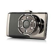 Недорогие Видеорегистраторы для авто-3-дюймовый автомобиль dvrtft lcd hd 1080p повернутый 140 градусов ультра широкоугольный приборная панель автомобиль цифровой