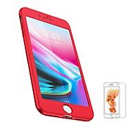 Недорогие Кейсы для iPhone 8 Plus-Кейс для Назначение Apple iPhone 8 iPhone 8 Plus Матовое Чехол Сплошной цвет Мягкий ТПУ для iPhone 8 Pluss iPhone 8 iPhone 7 Plus iPhone