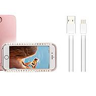 Недорогие Кейсы для iPhone 8-Кейс для Назначение Apple iPhone X iPhone 8 Plus LED Кейс на заднюю панель Рождество Мягкий ПК для iPhone X iPhone 8 Pluss iPhone 8