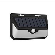 preiswerte LED Solarleuchten-1pc 10W LED-Solarleuchten Ferngesteuert Infrarot-Sensor Wasserfest Lichtsteuerung Außenbeleuchtung Kühles Weiß <5V