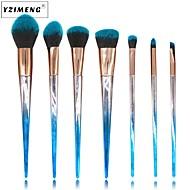 abordables Artículos para Maquillaje-7 PC Sistemas de cepillo Cepillo para Colorete Pincel para Sombra de Ojos Pincel para Labios Cepillo para Polvos Cepillo para Base Pincel
