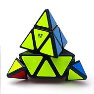 abordables 50% de DESCUENTO y Más-Cubo de rubik QIYI A Pyramid Alienígena 3*3*3 Cubo velocidad suave Cubos mágicos rompecabezas del cubo Brillante Alivio del estrés y la ansiedad Juguetes de oficina Arquitectura Clásico Niños Adulto