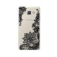 Недорогие Чехлы и кейсы для Galaxy A7(2016)-Кейс для Назначение SSamsung Galaxy A7(2017) A7(2016) С узором Кейс на заднюю панель Кружева Печать Мягкий ТПУ для A3 (2017) A5 (2017) A7