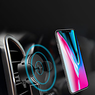 abordables Cargadores Wireless para iPhone-Cargador de Coche / Cargador Wireless Cargador usb USB Cargador Wireless / Qi 1 Puerto USB 1 A para iPhone 8 Plus / iPhone 8 / S8 Plus
