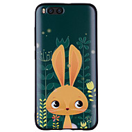 お買い得  携帯電話ケース-ケース 用途 Xiaomi Mi 6 Mi 5X パターン バックカバー バニー ソフト シリコーン のために Xiaomi Mi 6 Xiaomi Mi 5X Xiaomi A1