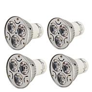 お買い得  LED スポットライト-YouOKLight 3W 200-250 lm GU10 LEDスポットライト R63 3 LEDの ハイパワーLED 装飾用 温白色 クールホワイト AC 110〜130V AC 220-240V