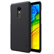 お買い得  携帯電話ケース-Nillkin ケース 用途 Xiaomi Redmi 5 Plus / Redmi 5 つや消し バックカバー ソリッド ハード PC のために Redmi Note 5A / Redmi 5A / Xiaomi Redmi 5 Plus