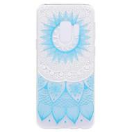 voordelige Galaxy S5 Mini Hoesjes / covers-hoesje Voor Samsung Galaxy S9 S9 Plus Patroon Achterkant Lace Printing Zacht TPU voor S9 Plus S9 S8 Plus S8 S7 edge S7 S5 Mini S5