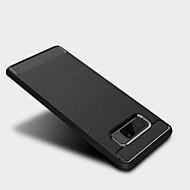 Недорогие Чехлы и кейсы для Galaxy Note 8-Кейс для Назначение SSamsung Galaxy Note 8 Матовое Кейс на заднюю панель Сплошной цвет Мягкий ТПУ для Note 8