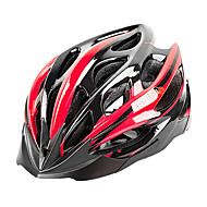 お買い得  -MOON 大人 バイクヘルメット 27 通気孔 CE 耐衝撃性, 軽量, サイズ調整機能 EPS, PC スポーツ ロードバイク / 登山 / サイクリング / バイク - ブーレ / ブラック / ホワイト / ブラック / レッド / ホワイト / ブラック / ブルー 男性用 / 女性用 / リムーバブルバイザー