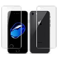 Недорогие Защитные плёнки для экрана iPhone-Защитная плёнка для экрана Apple для iPhone 7 TPG Hydrogel 2 штs Защитная пленка для экрана и задней панели Самозаживление 3D