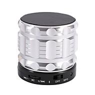 preiswerte Lautsprecher-S28-S Bluetooth Lautsprecher Bluetooth 2.0 TF Kartenschlitz Lautsprecher für Regale Schwarz Silber Rot