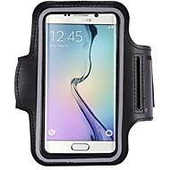 Недорогие Чехлы и кейсы для Galaxy S6 Edge Plus-Кейс для Назначение Samsung S9 / S8 Водонепроницаемый / Спортивные повязки / Нарукавная повязка Чехол Однотонный Мягкий пластик для S9 / S8 / S7 edge