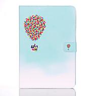 Недорогие Чехлы и кейсы для Samsung Tab-Кейс для Назначение SSamsung Galaxy Tab A 9.7 Кошелек / Бумажник для карт / со стендом Чехол Воздушные шары Твердый Кожа PU для