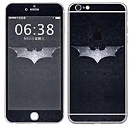Недорогие Защитные плёнки для экрана iPhone-1 ед. Наклейки для Защита от царапин Мультипликация Узор PVC iPhone 6s Plus/6 Plus
