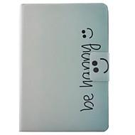 Недорогие Чехлы и кейсы для Samsung Tab-Кейс для Назначение SSamsung Galaxy Tab A 9.7 Бумажник для карт / со стендом / Флип Чехол Слова / выражения Твердый Кожа PU для Tab A 9.7