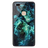 お買い得  携帯電話ケース-ケース 用途 Vivo X20 Plus X20 パターン バックカバー 塗装 ハード TPU のために vivo X20 Plus vivo X20