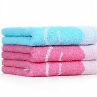 abordables Toallas y albornoces-Estilo fresco Toalla de Cara, Un Color Calidad superior 100% algodón 100% algodón de percal Toalla