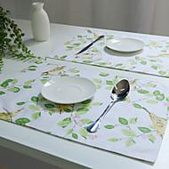 abordables Salvamanteles-Universal Algodón / Poliéster Cuadrado Juego de Mesa Decoraciones de mesa