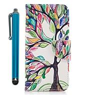 Недорогие Кейсы для iPhone 8 Plus-Кейс для Назначение Apple iPhone X iPhone 8 Plus Бумажник для карт Кошелек со стендом Флип Магнитный Чехол дерево Твердый Кожа PU для