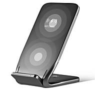 お買い得  Samsungアクセサリ-ドックチャージャー ワイヤレスチャージャー 電話USB充電器 ユニバーサル ワイヤレスチャージャー Qi * 1 1A DC 5V