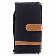 Недорогие Кейсы для iPhone 8-Кейс для Назначение Apple iPhone X iPhone 8 Plus Бумажник для карт Кошелек со стендом Флип Магнитный Чехол Сплошной цвет Твердый