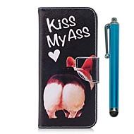 Недорогие Чехлы и кейсы для Galaxy S9-Кейс для Назначение Samsung S9 S9 Plus Бумажник для карт Кошелек со стендом Флип Магнитный Чехол С собакой Твердый Кожа PU ТПУ для S9