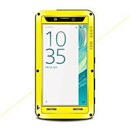 お買い得  -ケース 用途 Sony Xperia X 水/汚れ/ショックプルーフ フルボディーケース 純色 ハード メタル のために Sony Xperia X
