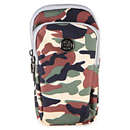 voordelige Galaxy A-serie hoesjes / covers-hoesje Voor Samsung Galaxy A7(2017) A5(2017) Kaarthouder Portemonnee Buideltas Camouflage Kleur Zacht Nylon voor A3 (2017) A5 (2017) A7