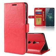 preiswerte Handyhüllen-Hülle Für Sony Xperia XA2 Ultra Xperia XZ2 Kreditkartenfächer Geldbeutel mit Halterung Flipbare Hülle Magnetisch Ganzkörper-Gehäuse