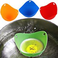 お買い得  キッチン用小物-キッチンツール シリコーン / 環境に優しい素材 多機能 / エコ / ソフト 卵ツール / アイスクリームツール / デザートツール ケーキ / パイ / 卵のための 4本