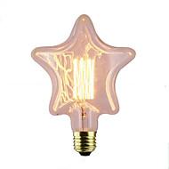 halpa Hehkulamppu-1kpl 40W E26/E27 Tähti 2300 K Himmennetty Vintage Edison-hehkulamppu AC 220V AC 220-240V V